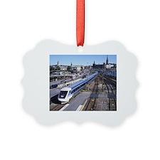 Cute Transportation Ornament