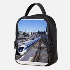 Train Neoprene Lunch Bag