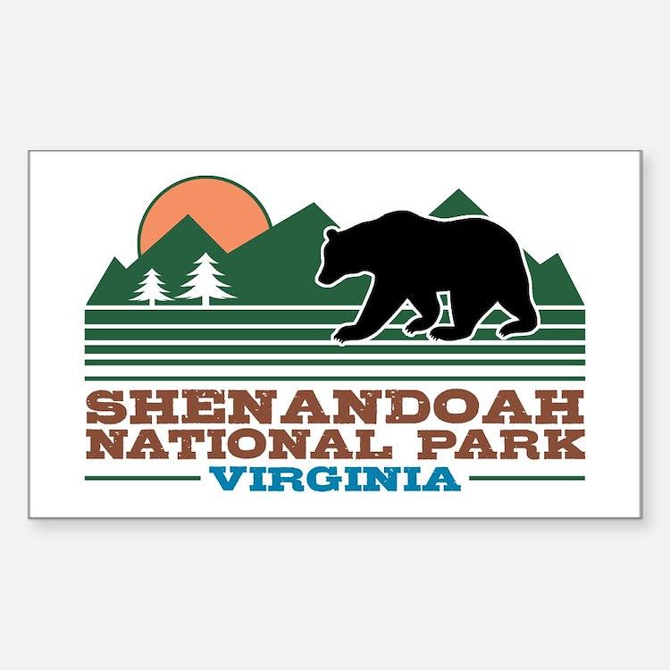 Shenandoah National Park Decal