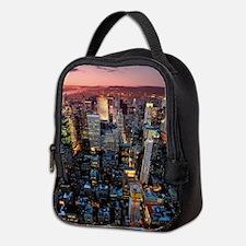 Skyscrapers Neoprene Lunch Bag