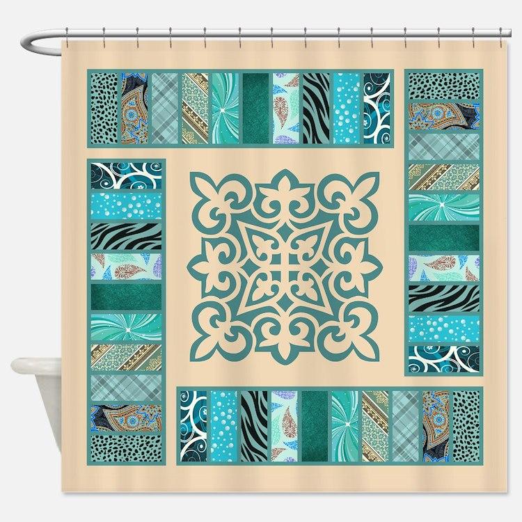 High End Designer Shower Curtains High End Designer Fabric Shower Curtain Liner