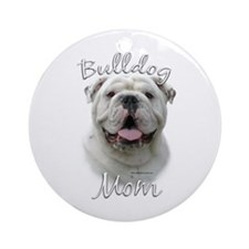 Bulldog Mom2 Ornament (Round)