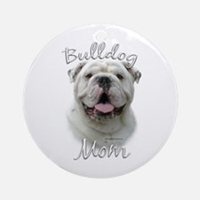 Bulldog Mom2 Ornament (Round)