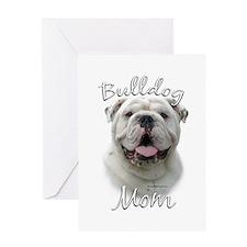 Bulldog Mom2 Greeting Card