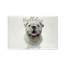 Bulldog Mom2 Rectangle Magnet