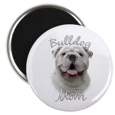 Bulldog Mom2 Magnet