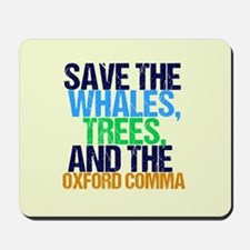 Oxford Comma Mousepad