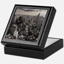 New York Skyscraper Vintage Keepsake Box