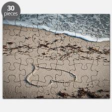 Beach Valentine Surf Puzzle