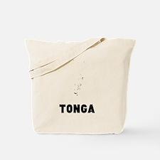 Tonga Silhouette Tote Bag