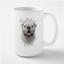 Bulldog Dad2 Large Mug