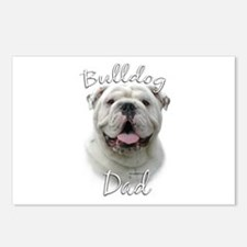Bulldog Dad2 Postcards (Package of 8)