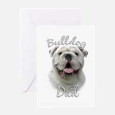 Bulldog Dad2 Greeting Card