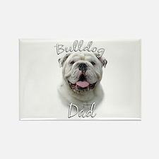 Bulldog Dad2 Rectangle Magnet