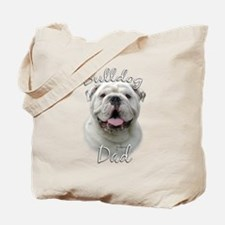 Bulldog Dad2 Tote Bag