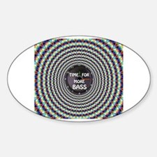 Cute Hip hop beats Sticker (Oval)