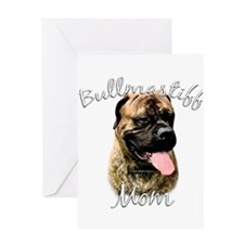 Bullmastiff Mom2 Greeting Card