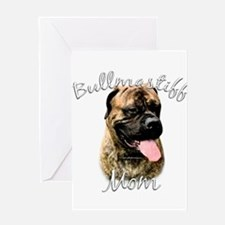 Bullmastiff Mom2 Greeting Card