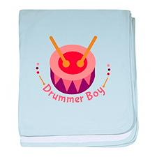 Drummer Boy baby blanket