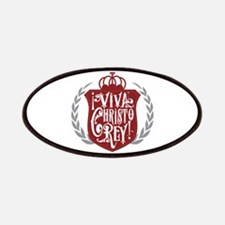 Viva Cristo Rey Shield Patch