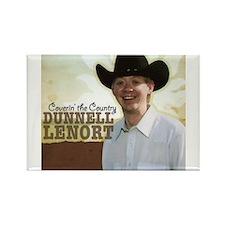 Dunnell Lenort Rectangle Magnet