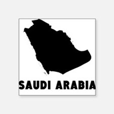 Saudi Arabia Silhouette Sticker