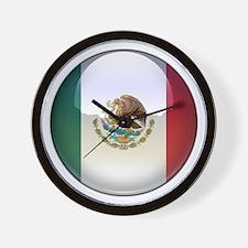 Mexico Flag Jewel Wall Clock