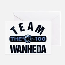 Team Wanheda The 100 Greeting Cards
