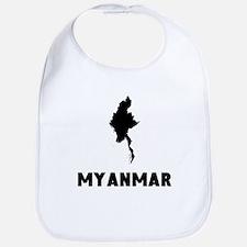 Myanmar Silhouette Bib