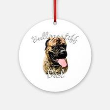 Bullmastiff Dad2 Ornament (Round)