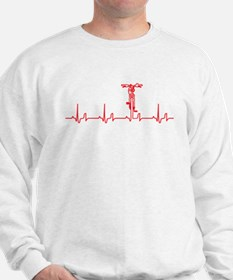 Bike Heartbeat Sweatshirt