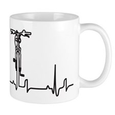 Bike Heartbeat Mug