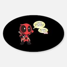 Deadpool Love Tacos Decal