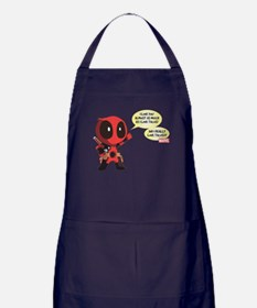 Deadpool Love Tacos Apron (dark)