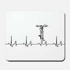 Bike Heartbeat Mousepad