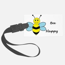 Cute Bee happy Luggage Tag
