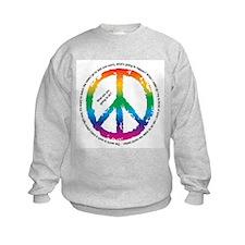 Peace Signs Sweatshirt