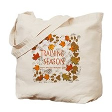 Dogsledding Season Tote Bag