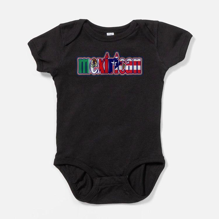 Cute Mexicanos Baby Bodysuit