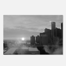 Unique Detroit downtown Postcards (Package of 8)