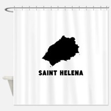 Saint Helena Silhouette Shower Curtain