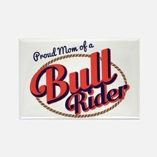 Proud Mom of a Bull Rider Magnets