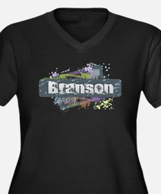 Branson Design Plus Size T-Shirt