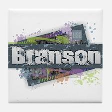 Branson Design Tile Coaster