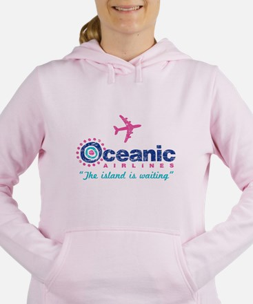 Cute Flight 815 Women's Hooded Sweatshirt