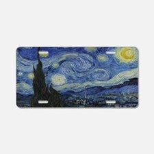 Cute Van gogh Aluminum License Plate