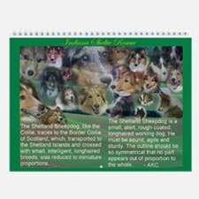 Indiana Sheltie Rescue Wall Calendar