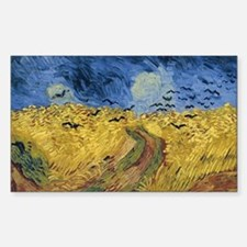 Vincent van Gogh - Wheatfield with Crows Decal
