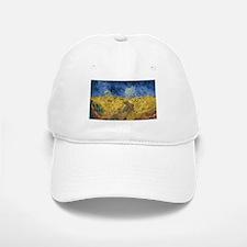 Vincent van Gogh - Wheatfield with Crows Baseball Baseball Cap