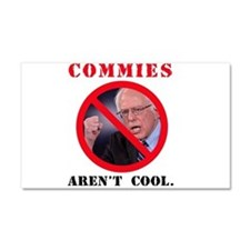 COMMIES aren't cool Car Magnet 20 x 12
